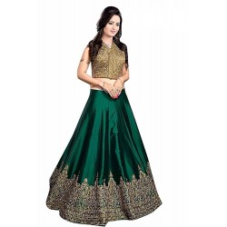 WE0038: Green Lehenga Set...
