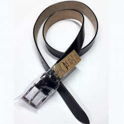 Tony Brown Black Leather Belt