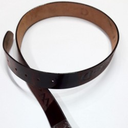 Woodland Brown Leather Belt