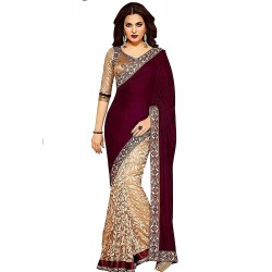 Georgette Saree With Blouse...