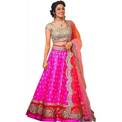 WE0077: Pink Banglory Silk...
