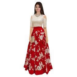 WE0079: Silk Lehenga Choli