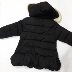 Black Winter Jacket with...