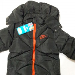 Nike Black Down Jacket with...