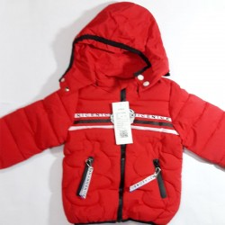 Winter Red Jacket with cap...