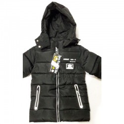 Black Down Jacket for Kids