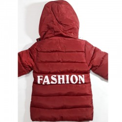 Maroon Red Down Jacket for...