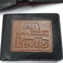 Levi's Black-Brown Leather...