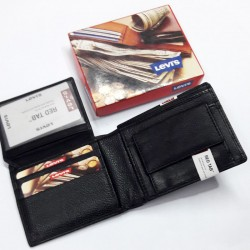 Levi's Black Leather Wallet