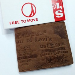 Levi's Brown Leather Wallet